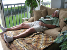 Brian's Professional Nap in Florida Sun!