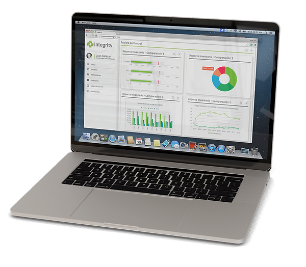 Con integrity Reportes onstruya tableros de control con essos datos imprtNtespara lleva un controldela peración de su empresa