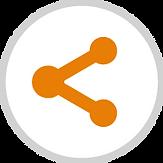 Compartir  Los usuariospueden compartir tanto los datos que consulta, como los reportes con otros