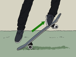 Skate with Schlaudie: How to Ollie