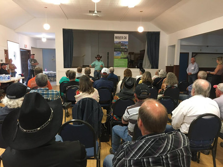 Banff-Airdrie candidate for Maverick Party hosts town hall in Balzac