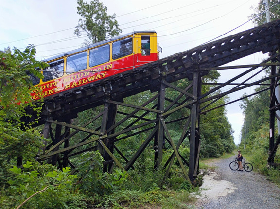 Lookout Mountain Incline Railway Bike Tour