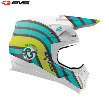 EVS T5 Cosmic Adult Helmet (Matte Tiffany Blue)