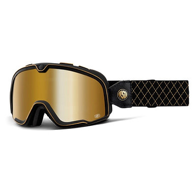 100% Barstow Goggles Roland Sands / Gold Mirror Lens