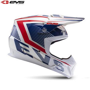EVS T5 Vector Adult Helmet Blue/Red