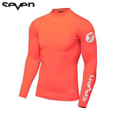 Seven MX 18.1 Zero Adult Compression Jersey (Coral)