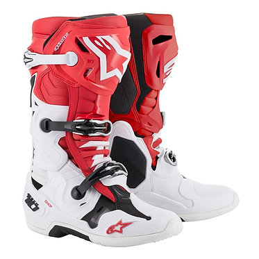 TECH 10 BOOT (RED/WHITE/BLACK)