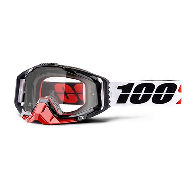 100% Racecraft Goggles Marigot / Clear Lens