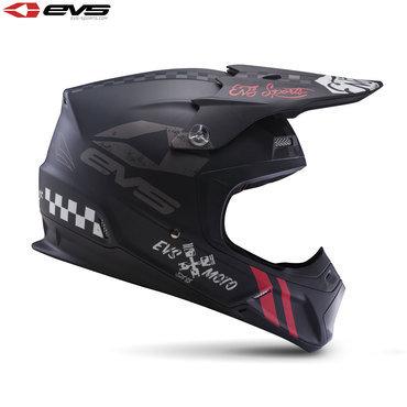 EVS T5 Fury Adult Helmet Matte Black