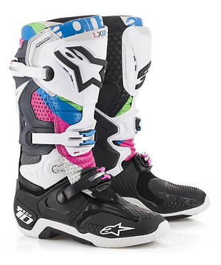 TECH 10 BOOT(BLACK/GREY/FUCHSIA/AQUA/GREEN)