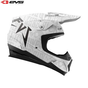 EVS T5 Evilution Adult Helmet (Matte White)