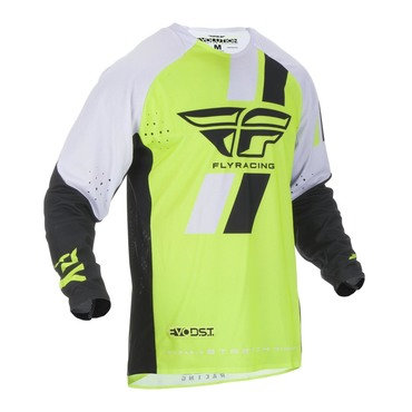 Fly 2019 Evolution Adult Jersey (Hi-Viz/Black/White)