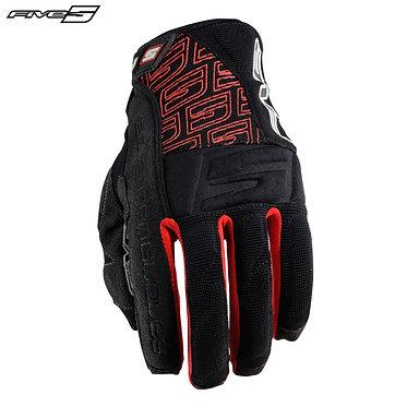 Five Enduro Quad Summer Adult Gloves Black/Red