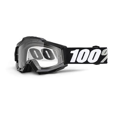 100% Accuri Goggles Tornado / Clear Lens