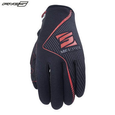 Five MX Neoprene Adult Gloves Black