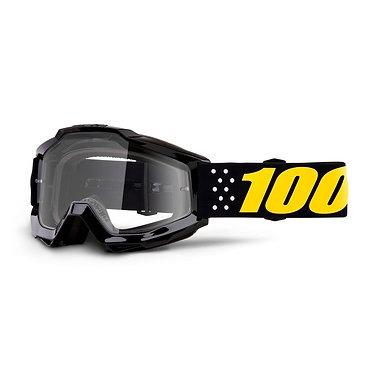 100% Accuri Goggles Pistol / Clear Lens