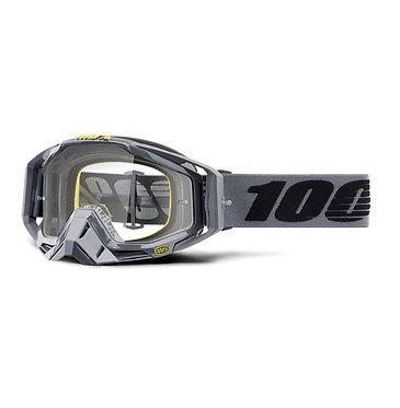 100% Racecraft Goggles Nardo / Clear Lens
