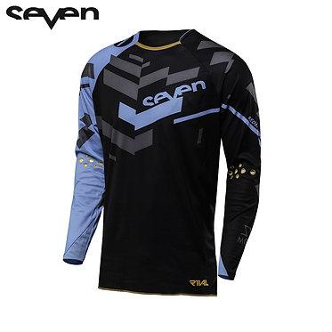 Seven MX 18.2 Rival Adult Volume Jersey (Black/Blue)