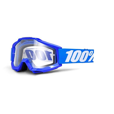100% Accuri Goggles Reflex Blue / Clear Lens