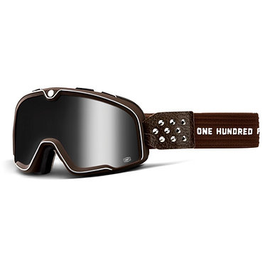 100% Barstow Goggles Garage / Silver Mirror Lens