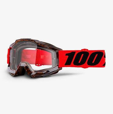 100% Accuri Goggles Vendome / Clear Lens