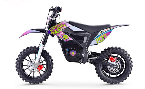 Stomp Wired Ride to Party Electric Pit Bike
