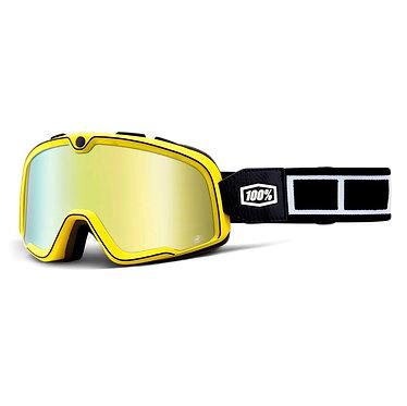 100% Barstow Goggles Burnworth / Gold Mirror Lens