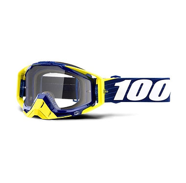 100% Racecraft Goggles Bibal Navy / Clear Lens