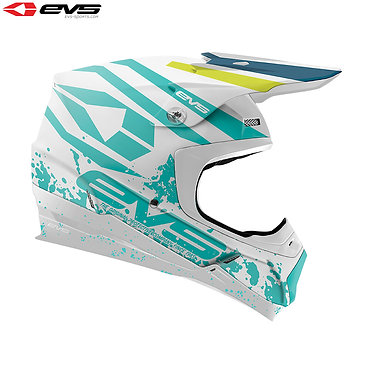 EVS T5 Grappler Adult Helmet (Matte White)