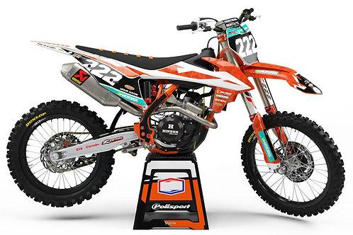 2019 Prostock (Camo) SERIES – KTM SX/SXF/EXC/EXC-F Graphics Kit