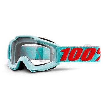 100% Accuri Goggles Maldives / Clear Lens