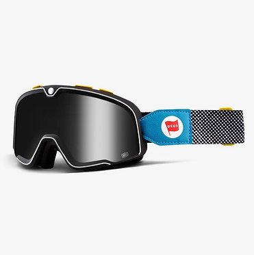 100% Barstow Goggles Deus 17 / Silver Mirror Lens