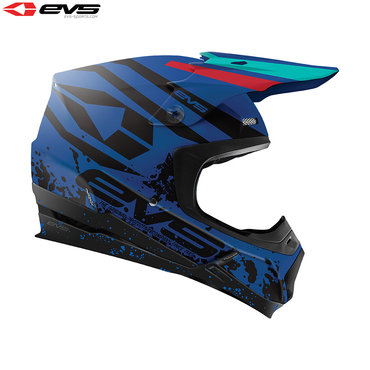 EVS T5 Grappler Adult Helmet (Matte Dark Blue)