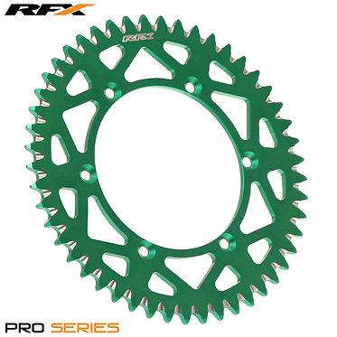 RFX Pro Series Elite Rear Sprocket Kawasaki KX125-250 KXF250-450 82-17 (Green) V