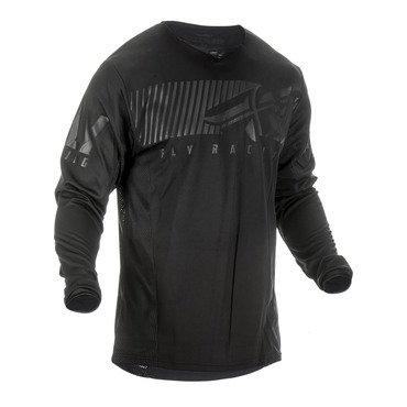 Fly 2019 Kinetic Shield Adult Jersey (Black/Black)