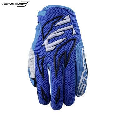 Five MXF3 Adult Gloves Blue/Light Blue