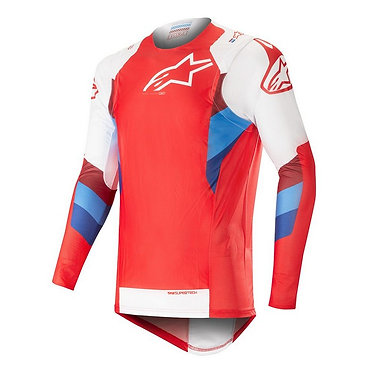 ALPINESTARS 2019 SUPERTECH JERSEY RED/WHITE