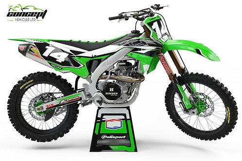 Attack Series – Kawasaki KX/KXF Graphics Kit