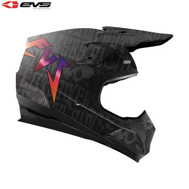 EVS T5 Evilution Adult Helmet (Black)