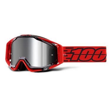 100% Racecraft + Goggles Toro / Injected Silver Mirror Lens