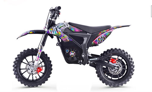 Stomp Wired Splatter Electric Pit Bike