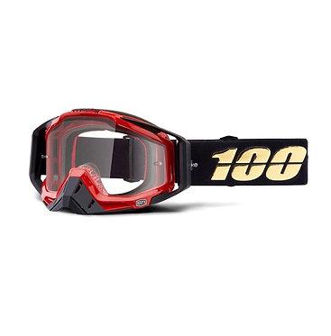 100% Racecraft Goggles Hot Rod / Clear Lens