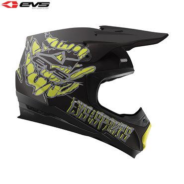 EVS T5 Egon Adult Helmet (Black)
