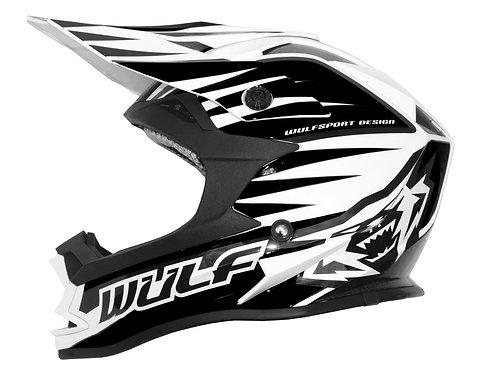 Wulfsport Kids Advance Helmets ( BLACK )