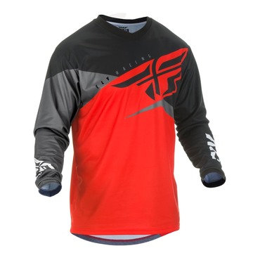 Fly 2019 F-16 Adult Jersey (Red/Black/Grey)