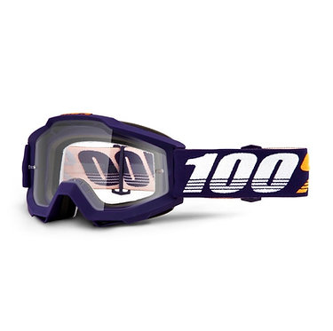 100% Accuri Goggles Grib / Clear Lens