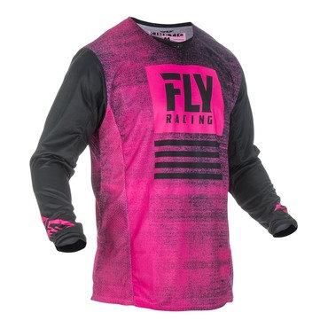 Fly 2019 Kinetic Noiz Adult Jersey (Neon Pink/Black)