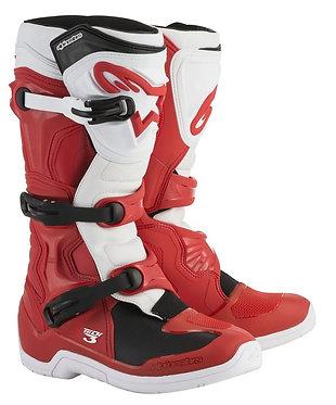 ALPINESTARS TECH 3 BOOT RED/WHITE