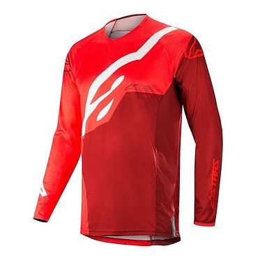 ALPINESTARS 2019 TECHSTAR FACTORY JERSEY RED/BURGUNDY