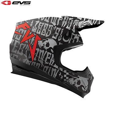 EVS T5 Evilution Adult Helmet (Titanium)